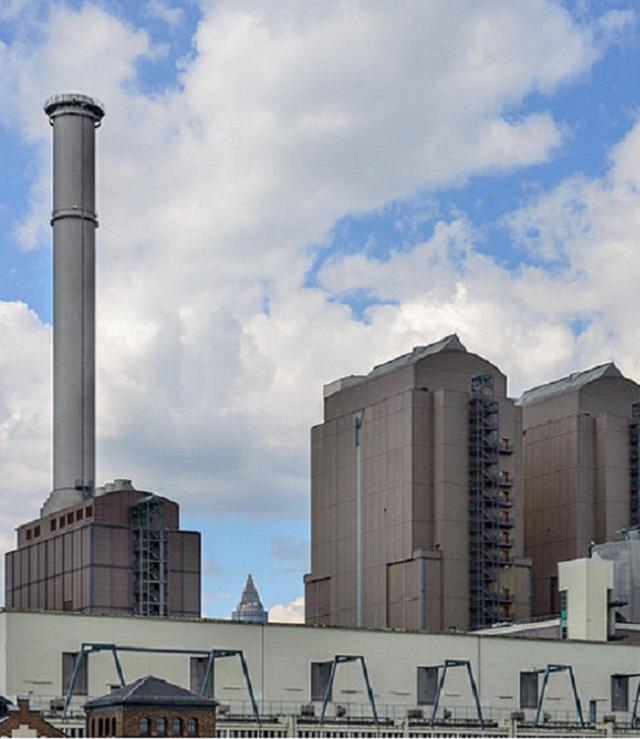 Heizkraftwerk Frankfurt West