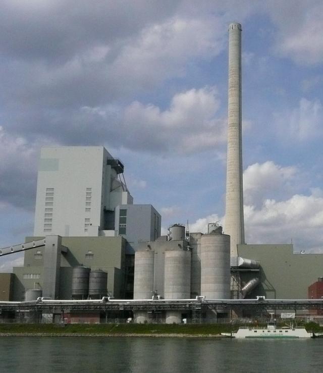 Schwetzingen: Großkraftwerk Mannheim