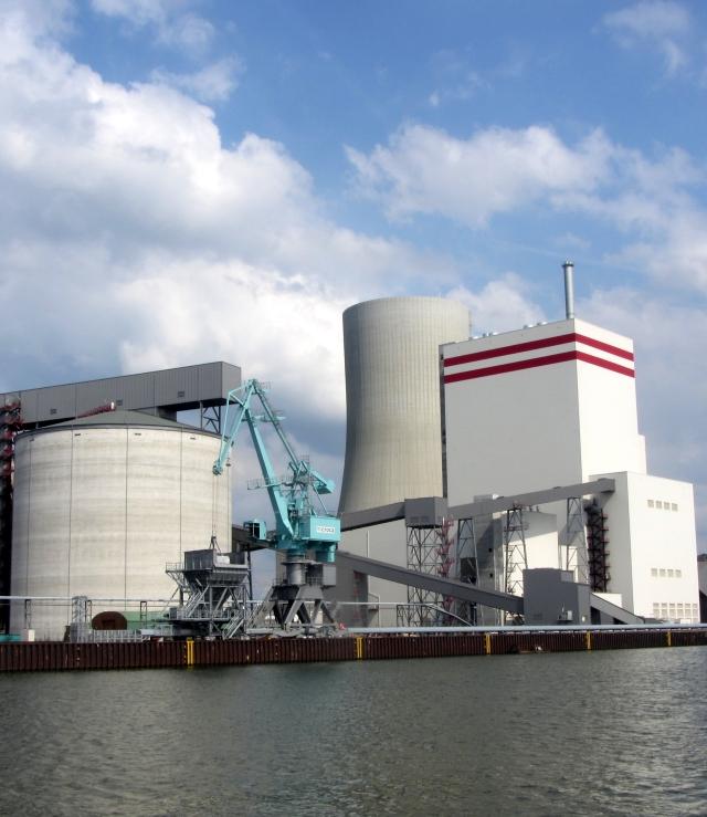 Lünen: Kohlekraftwerk Lünen-Stummhafen