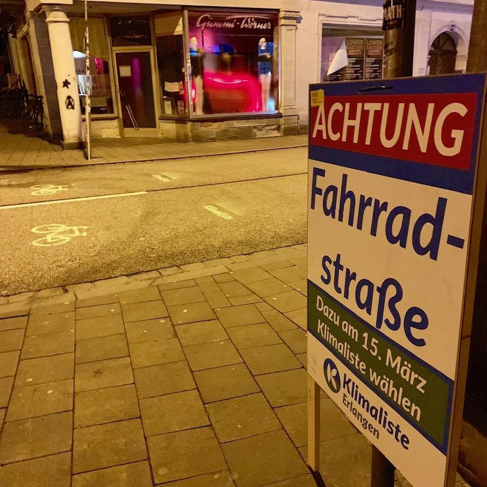Klimaliste Erlangen
